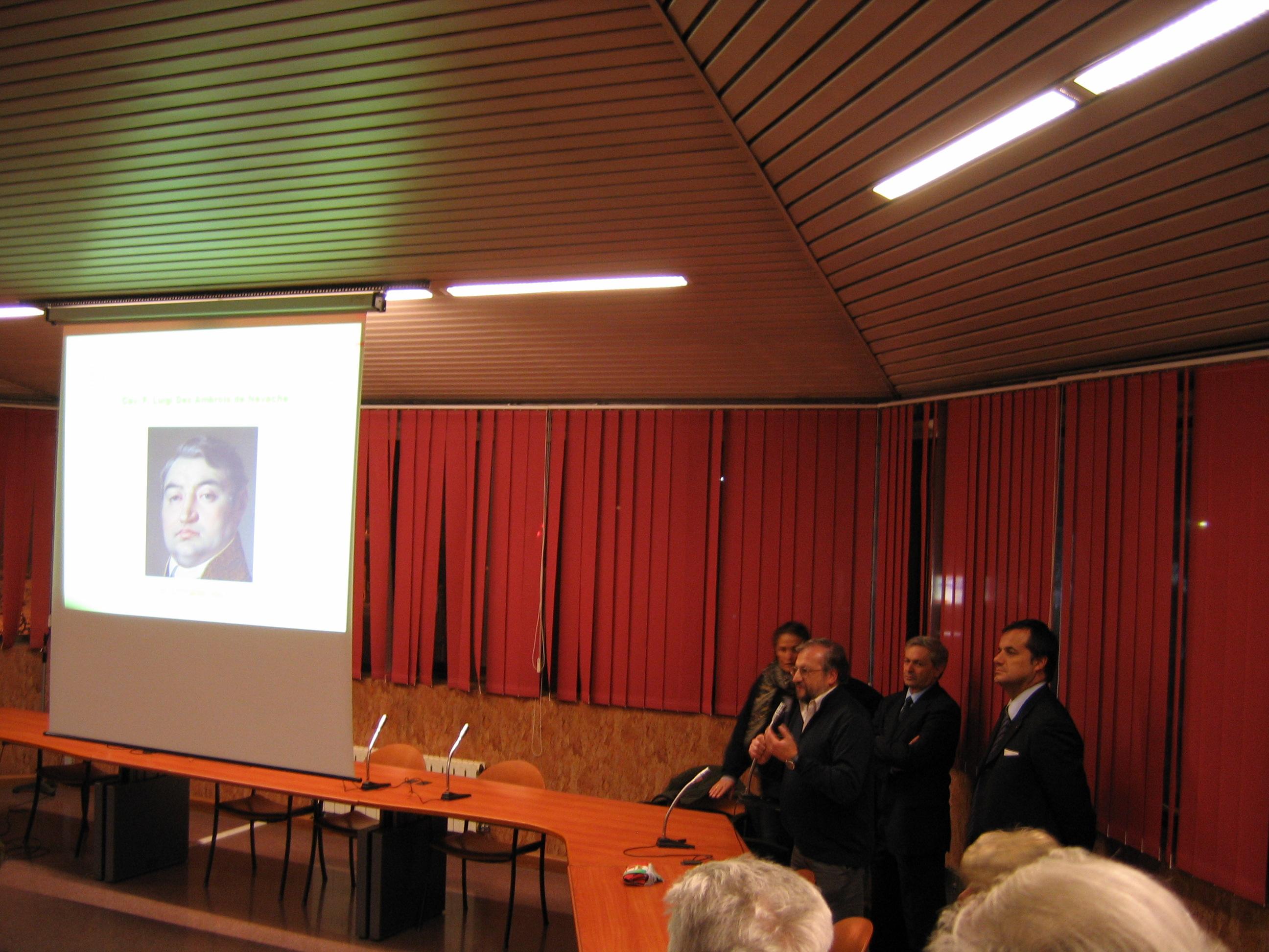 Bicentenario della nascita di Luigi Des Ambrois