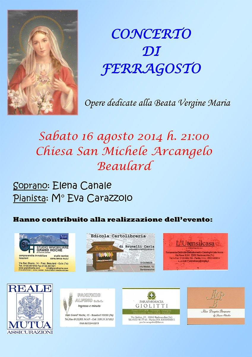 Concerto di Ferragosto (Beaulard)