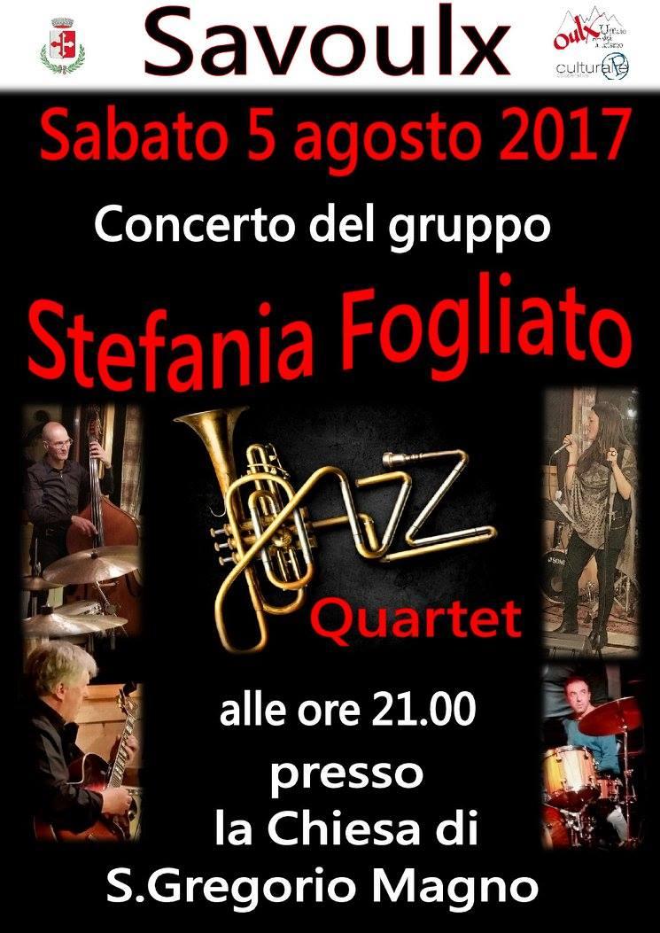 Concerto Stefania Fogliato Jazz Quartet