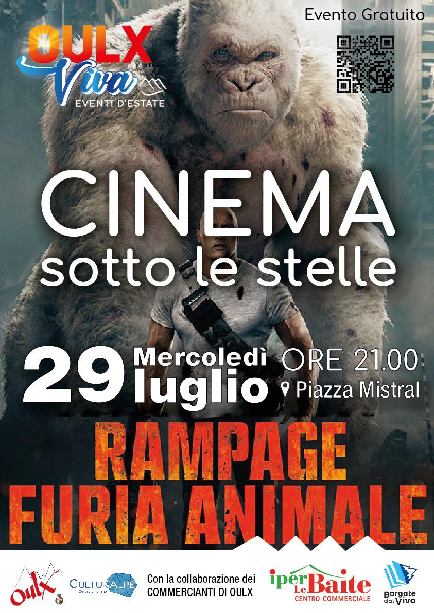 Cinema sotto le stelle: