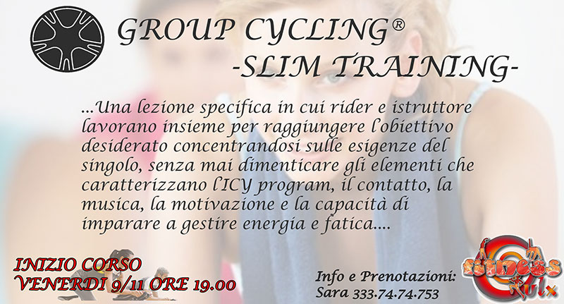 Group cycling slim training