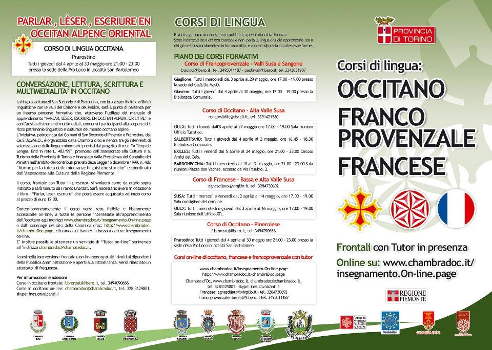 Corso di occitano