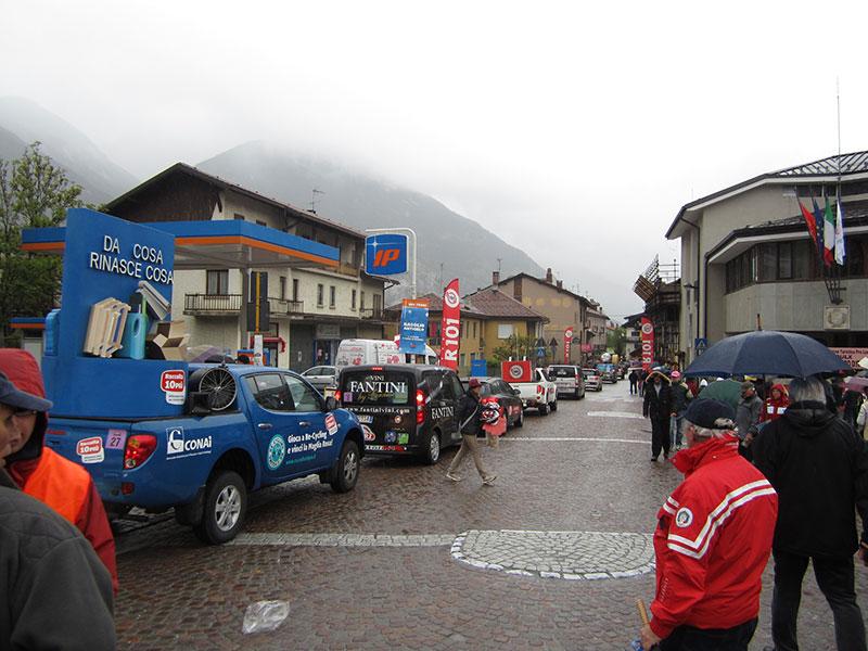 Passaggio 96° Giro d'Italia 2013