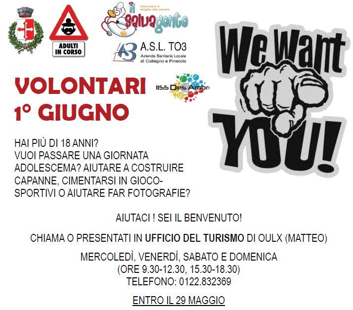Volontari per