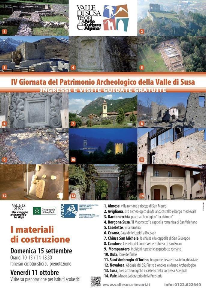 IV Giornata del Patrimonio Archeologico