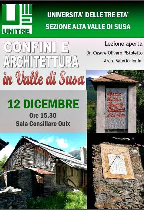 Confini e Architettura in Valle di Susa