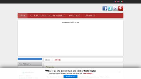 http://www.ristorantelozodiaco.com